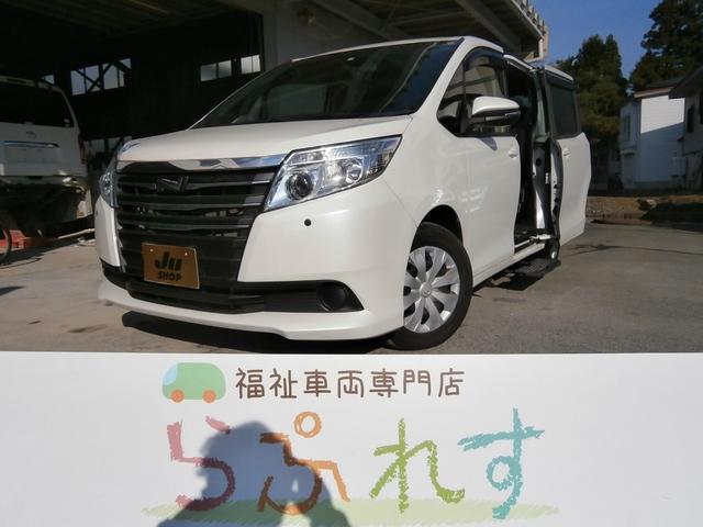 トヨタ X 4WD サイドステップ送迎タイプ 左側電動スライドドア ナビ Bluetoothオーディオ LEDヘッドライト