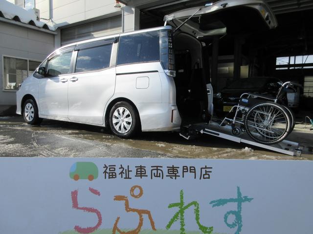 トヨタ ヴォクシー X Cパッケージ ウェルキャブスロープI車いす2脚7名