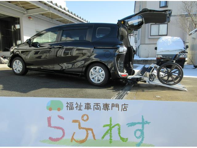 トヨタ X ウェルキャブC車いす仕様車タイプIセカンドシート付