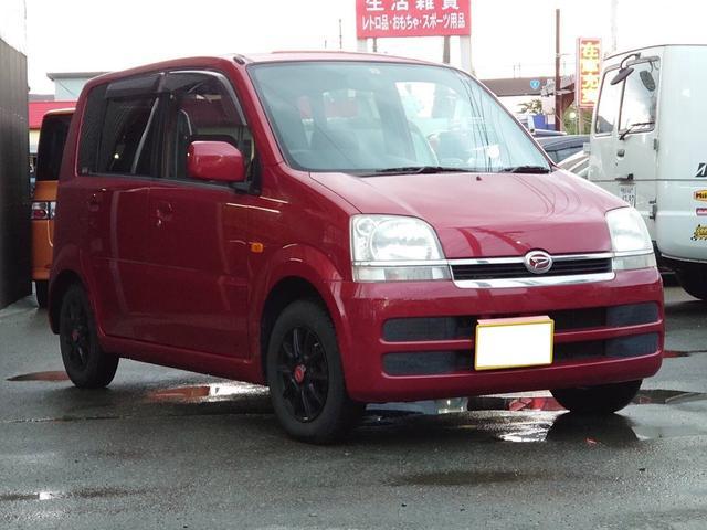 ダイハツ L フルタイム4WD CD AC 社外アルミ 3年4月検