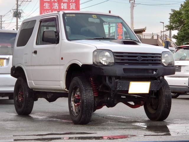 スズキ XG 4WD リフトアップ 社外バンパー MT5