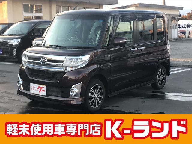 ダイハツ カスタムX トップエディションSAII 4WD 社外ナビ