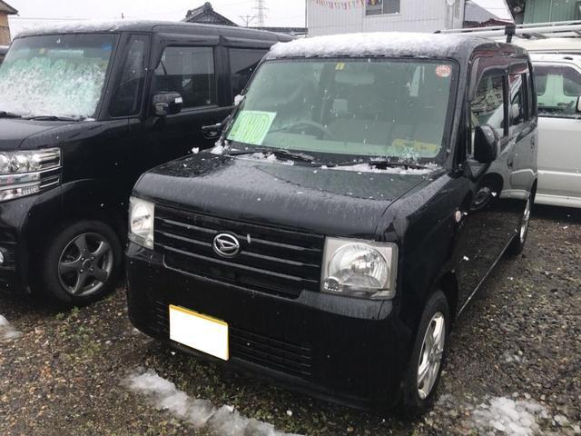 ダイハツ Xスペシャル 軽自動車 4WD ブラック CVT AC AW