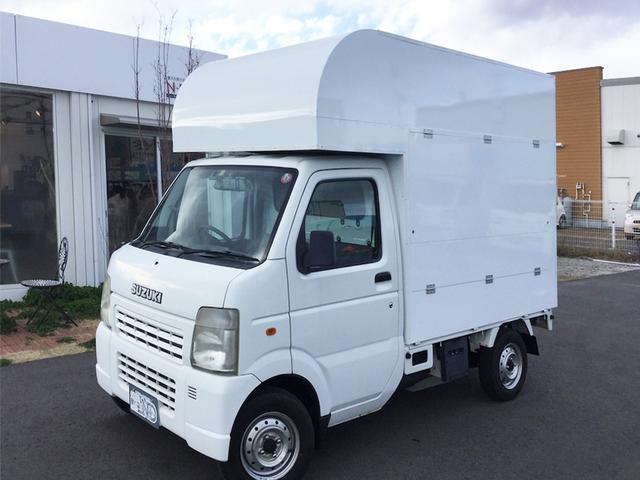 スズキ 軽自動車キッチンカー フードトラック 移動販売車 製作中