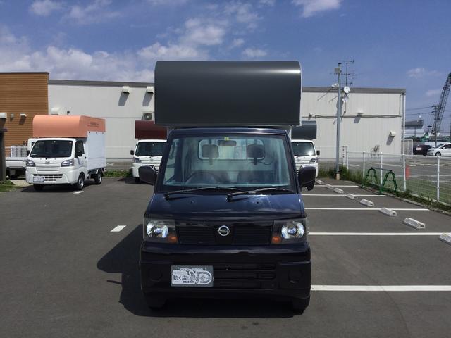 日産 NT100クリッパートラック SD 厨房器具搭載済キッチンカー、保健所対応仕様製作中9月末完成予定