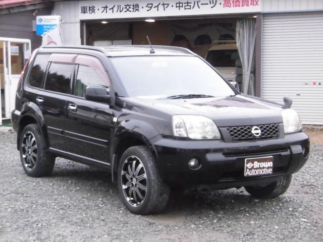 日産 エクストレイル Xtt 4WD ナビ サンルーフ 18インチアルミ