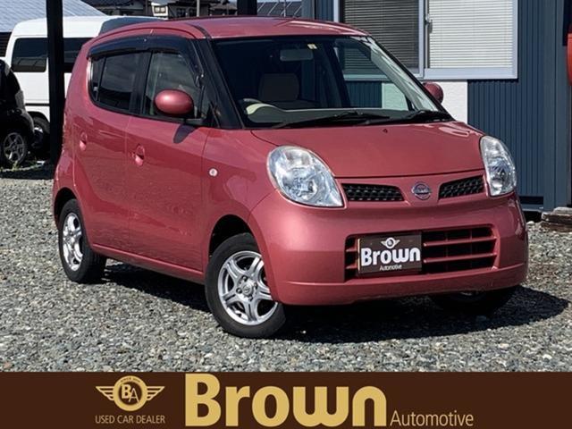 日産 モコ E FOUR 4WD/AM/FM/CD/DVD/定期点検記録簿付き/シートヒーター装備