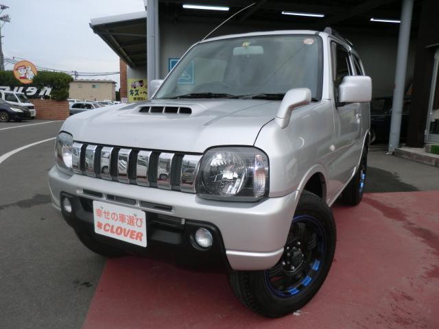 スズキ XC /4WD/4AT/CD/キーレス/ドアバイザー/フォグランプ/ワンオーナー