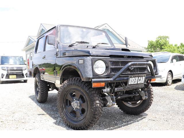 スズキ ジムニー HA エアコン パワステ 5MT 4WD マッドタイヤ