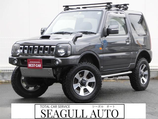 スズキ クロスアドベンチャーXC サロモン 4WD 5MT リフトアップ ABS ナビ フルセグTV Bluetooth接続 CD DVD ETC ルーフキャリア インタークーラーターボ パートタイム4WD高低二段切替式