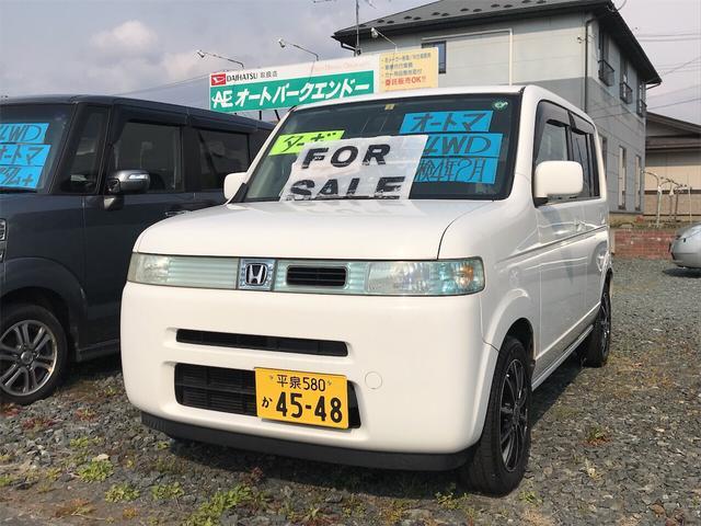 ホンダ ターボ 4WD ナビ ETC タフタホワイト