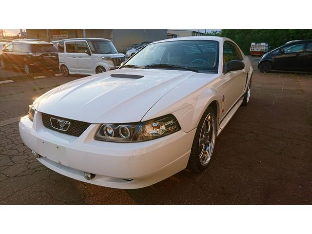 フォード マスタング G アルミホイール 社外CDオーディオ 社外マフラー