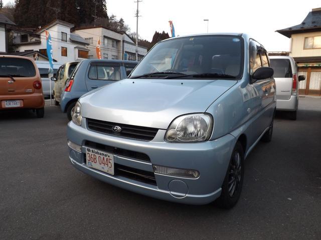スバル F 4WD オートマ アルミホイール 社外CD キーレス 車検整備2年付き 【GOO鑑定】