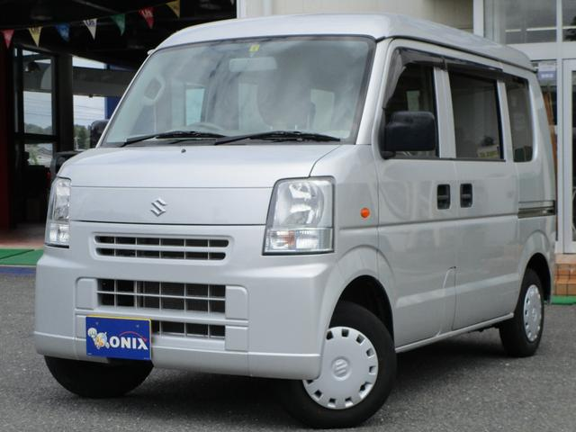 スズキ エブリイ ジョイン 4WD CDデッキ キーレス ライトレベライザー 運転席助手席パワーウインドゥ