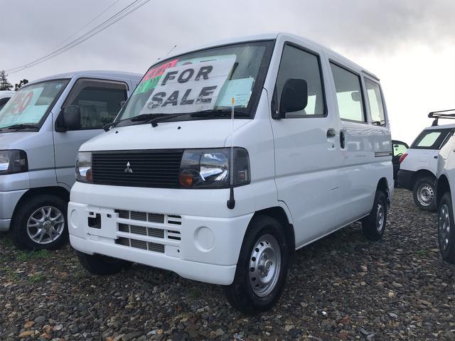 三菱 ミニキャブバン CD 4WD 5速マニュアル エアコンパワステ