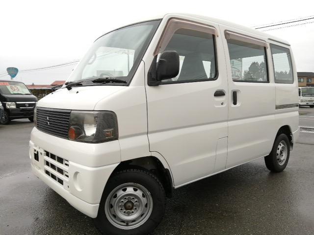 三菱 ミニキャブバン CD 4WD ハイルーフ