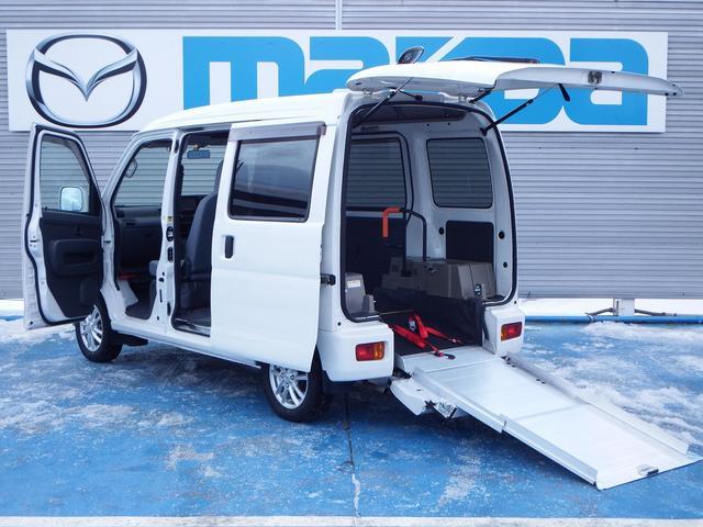 ダイハツ フレンドシップ スロープ 補助席付き 4WD