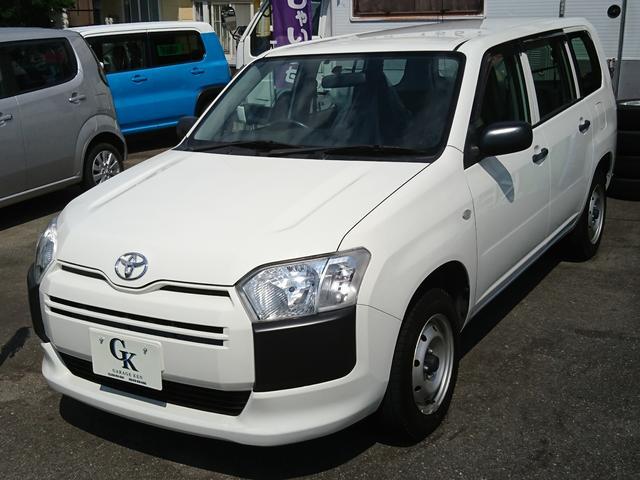 トヨタ プロボックス DXコンフォート ・4WD・カーナビ・Bluetooth・ワンオーナー・ルームクリーニング済