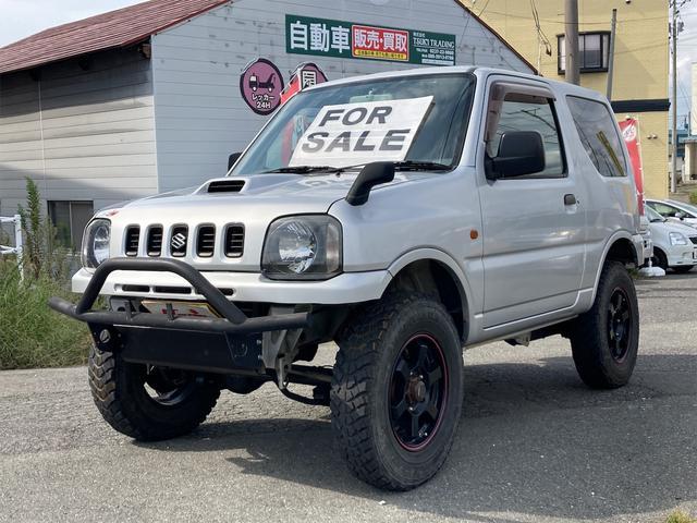 スズキ XL 4WD リフトアップ フロントパイプ 社外マフラー 社外サスペンション 5MT アルミホイール