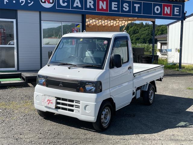 三菱 Vタイプ 4WD 5速マニュアル パスステ 軽トラック 最大積載量350kg 三方開き
