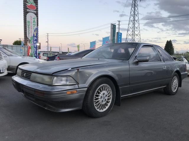 トヨタ ソアラ 2.0GT ツインカム24 NA 純正5速 後期型