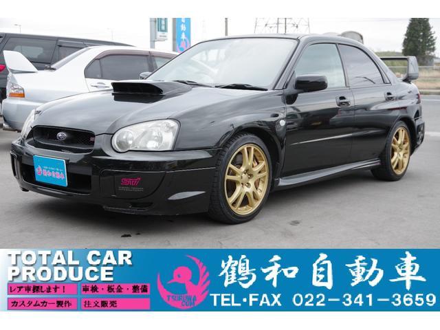 スバル WRX STi・4WD・社外ナビ・ETC・キーレス・純正AW