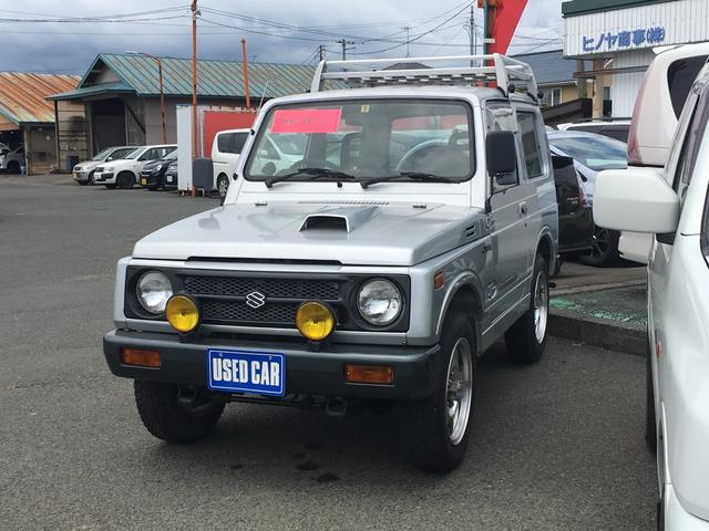 スズキ ランドベンチャー 4WD ターボ ルーフキャリア