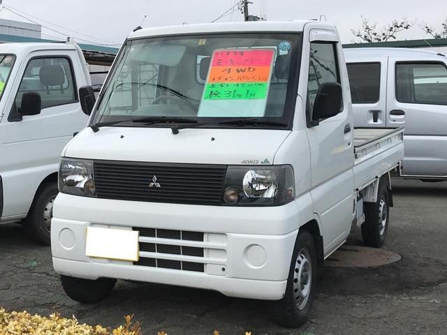 4WD エアコン パワステ 5速マニュアル ホワイト