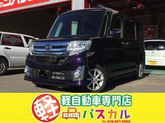 タントカスタムX SA 4WD 660cc 純正ナビ TV