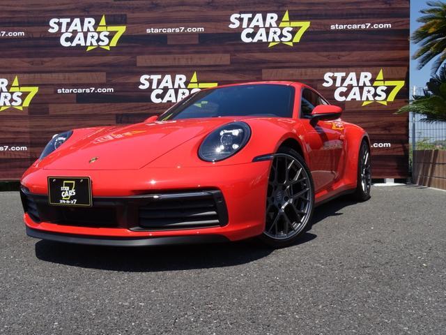 ポルシェ 911  911カレラS スポーツクロノ スペシャルメタリックペイント PASM 左ハンドル フロントリフト 20/21インチRS Spyderデザイン スポーツエキゾースト シートヒーター ガレージ保管
