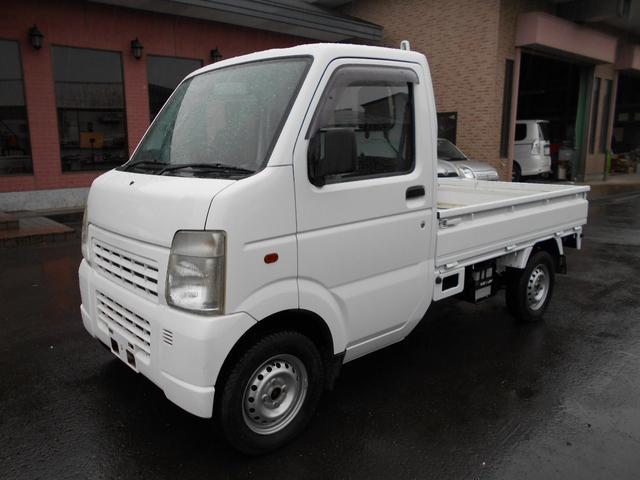 スズキ キャリイトラック KCエアコン・パワステ 4WD (なし)