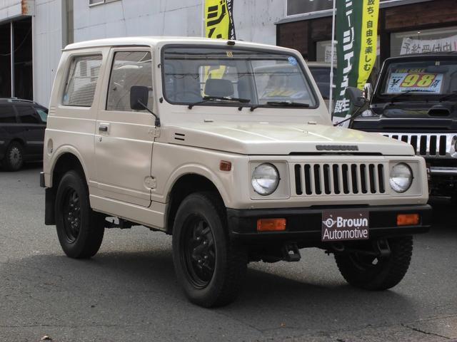 スズキ SJ30 ベージュ全塗装 ノーマル車高