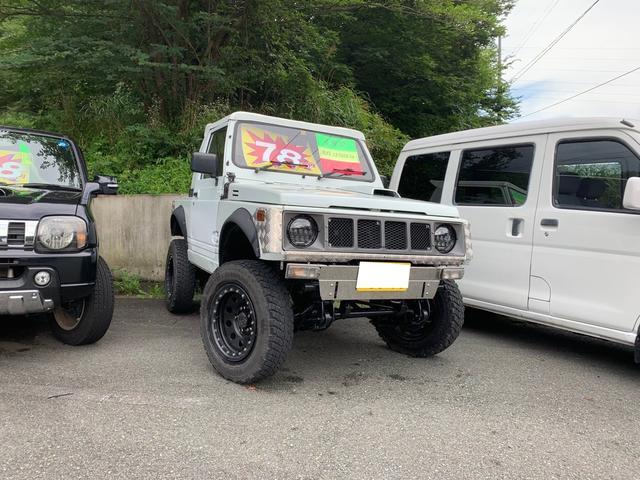 スズキ ジムニー 幌タイプ公認済み 4WD