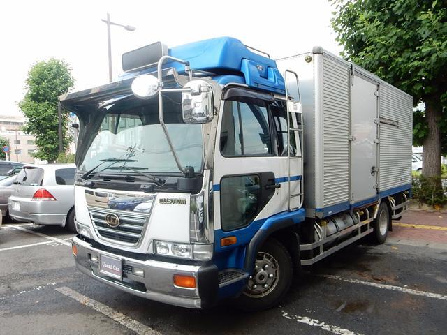 UDトラックス カスタム ワンオーナー アルミ燃料タンク アルミホイール