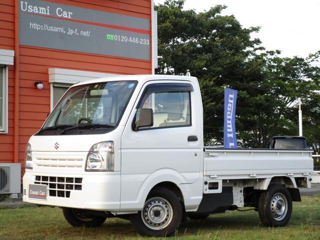 スズキ KCエアコン・パワステ ワンオーナー 4WD 5MT