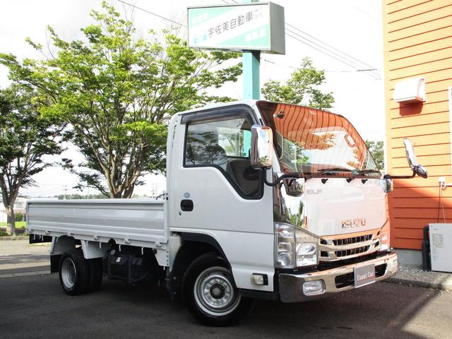 いすゞ エルフトラック フラットロー 5MT キーレス メッキパーツ ETC 三方開 最大積載量1500kg