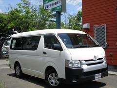 ハイエースワゴンDX 4WD ワンオーナー 10人乗り ナビTV バックカメラ Bluetooth