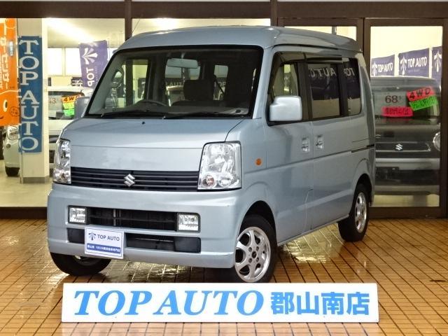 スズキ JPターボ ハイルーフ 4WD ナビ ETC 保証付