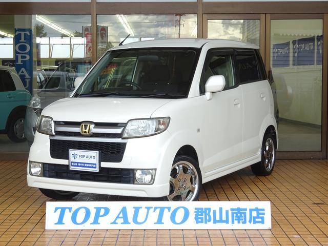 ホンダ スポーツG 4WD 社外ナビ TV タイベル交換済み 保証付