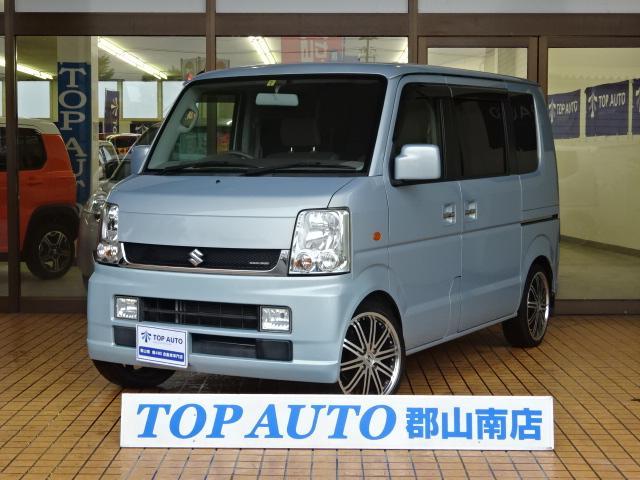 スズキ JP 4WD ローダウン 16インチアルミ 5MT 保証付