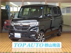 N BOXカスタムG・Lホンダセンシング 4WD ナビ TV Wパワスラ 保証