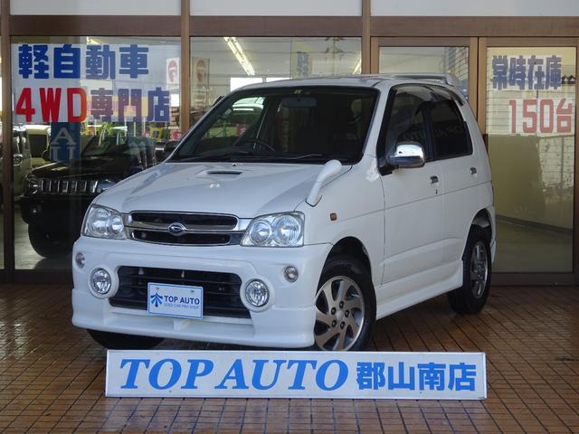 ダイハツ カスタムX 4WD ターボ CD 無修復歴車