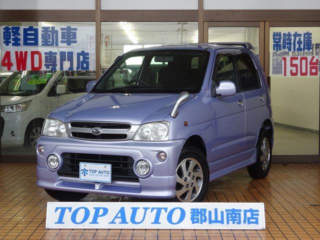 ダイハツ カスタムL 4WD CD ETC 純正アルミ 無修復歴車