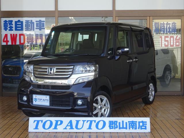 ホンダ G・ターボパッケージ 4WD ナビ TV 両側電動ドア 保証