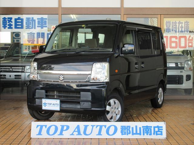 スズキ JPターボ 4WD 電動スライドドア CD ETC キーレス 無修復歴 シートヒーター 保証付