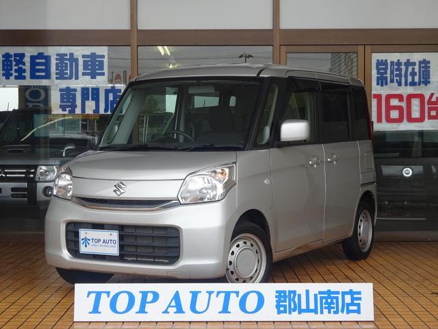 スズキ G 4WD 電動スライドドア ナビ TV DVD再生 スマートキー ETC シートヒーター
