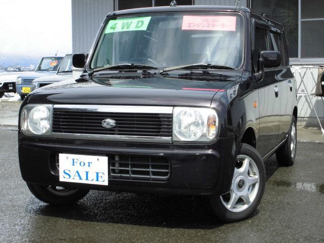スズキ GセレクションII 4WD キーレス CD エンスタ