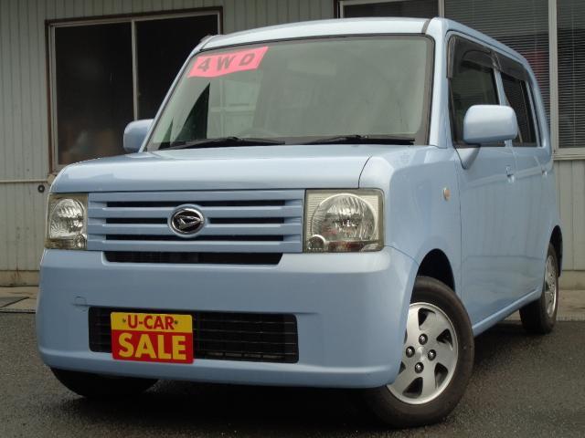 ダイハツ L 4WD キ-レス CD アルミホイ-ル ABS Tチェ-ン