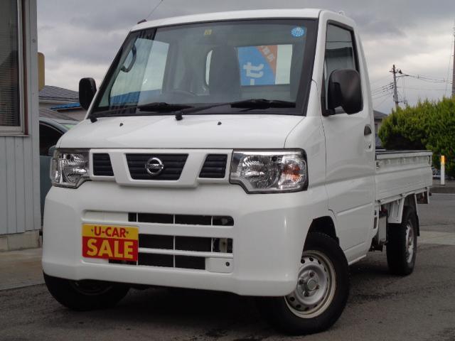 日産 NT100クリッパートラック DX 4WD エアコン パワステ 純正ラジオ