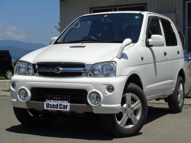 ダイハツ テリオスキッド L 4WD 5速M/T タ-ボ キ-レス CD 社外アルミ